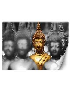 Papier peint Bouddha d'orL | Feeby | Or