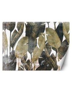 Papier peint Feuilles de bananeL   Feeby   Vert