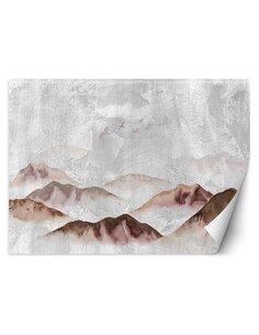 Papier peint Oiseaux sur les montagnesL   Feeby   Rose