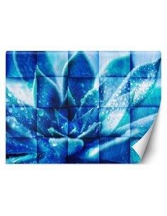 Papier peint Fleur bleueL | Feeby | Bleu