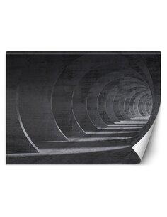 Papier peint Tunnel gris 3DL | Feeby | Gris