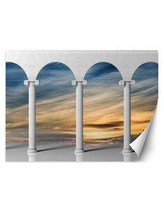 Papier peint Colonnes avec vue sur le cielL | Feeby | Multicolore