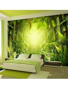 Papier peint adhésif Fée de la forêt | Artgeist | Vert, jaune, brun