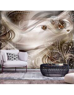 Papier peint adhésif Soirées d'automne   Artgeist   Brun, gris, beige