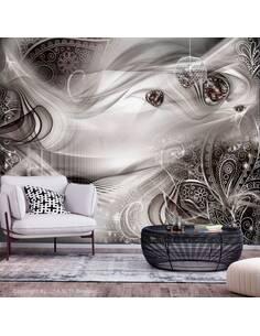Papier peint adhésif Soirées d'automne   Artgeist   Gris, noir, beige
