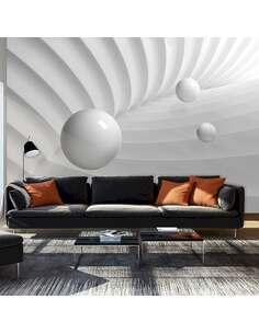 Papier peint adhésif Symétrie blanche | Artgeist | Blanc
