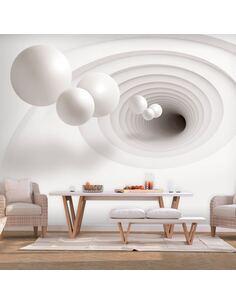 Papier peint adhésif La source   Artgeist   Blanc, gris