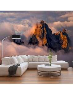 Papier peint adhésif Arcane des nuages | Artgeist | Brun, blanc, bleu, orange