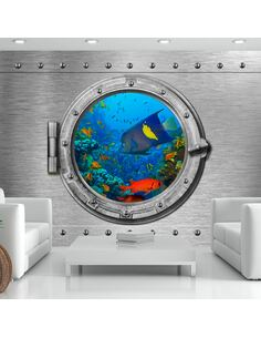 Papier peint adhésif Paysage sous-marin   Artgeist   Argent, azuré