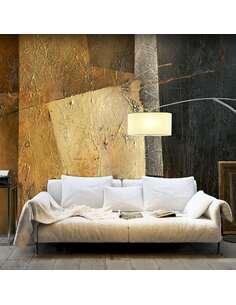 Papier peint adhésif Art moderne | Artgeist | Jaune, vert, gris, rouge