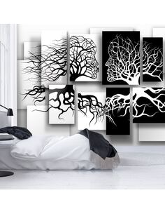 Papier peint adhésif Embrasser | Artgeist | Noir et blanc